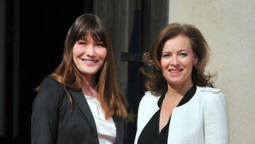 Carla Bruni et Valérie Trierweiler unies dans le deuil et le combat face à la maladie