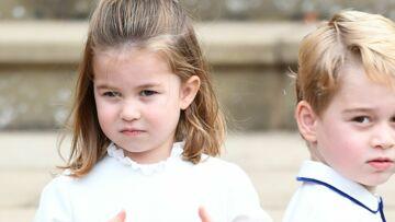 George et Charlotte, ce détail qui vous avait peut-être échappé lors du mariage de Meghan et Harry