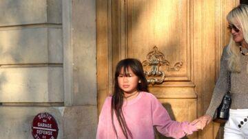 Joy Hallyday de retour à St Barth, la fillette savoure ces «moments magiques»