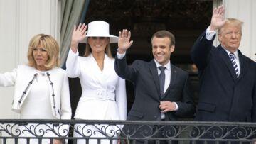 Emmanuel et Brigitte Macron, leur coup de stress lors de la venue de Melania et Donald Trump à Paris
