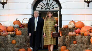PHOTOS – Melania et Donald Trump fêtent Halloween: cet accessoire qui a bien fait rire le président