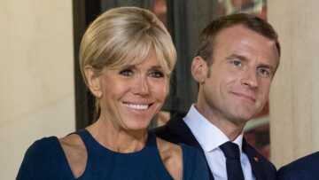 Ce geste passionné de Brigitte et Emmanuel Macron qui a surpris à l'Elysée