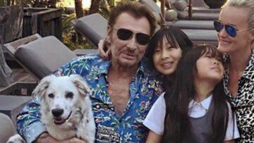 EXCLU VIDEO – Quand Johnny Hallyday voulait dédier une chanson à sa chienne Cheyenne