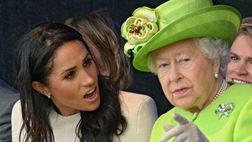 Meghan Markle: le jour où la reine l'a sèchement recadrée