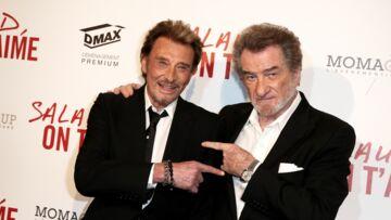 VIDÉO – Johnny Hallyday: ce qui a bien fait rire Eddy Mitchell lors de l'hommage populaire