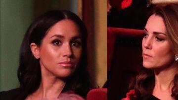 PHOTOS – Meghan Markle et Kate Middleton étrangement distantes l'une de l'autre au même évènement