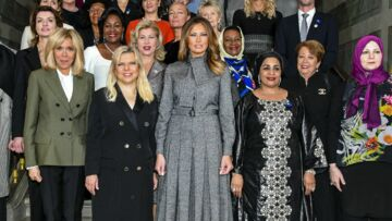 PHOTOS – Melania Trump somptueuse en Dior: comment elle a éclipsé toutes les autres Premières dames à Versailles