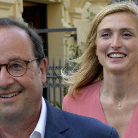 """Julie Gayet """"discrète"""" avec François Hollande, elle évoque toutefois son """"bonheur"""""""