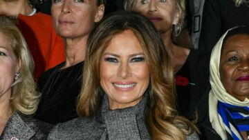 Melania Trump en France : les messages forts passés à travers sa garde-robe