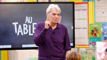 VIDÉO – Bernard Tapie atteint d'un cancer: ses confidences touchantes aux enfants dans l'émission Au tableau