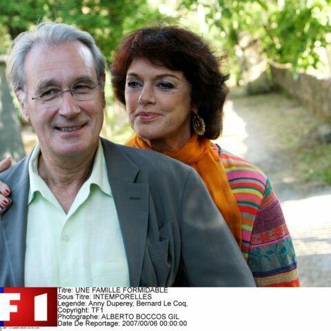 Bernard Le Coq (Une famille formidable) se souvient lorsqu'il avait «les jetons» devant Anny Duperey