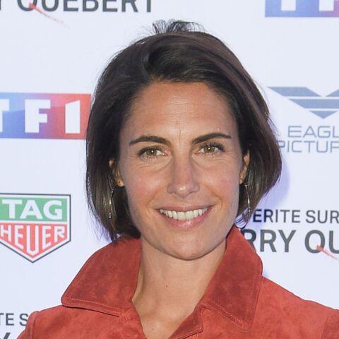 Alessandra Sublet en solo et souriante après l'annonce de sa séparation d'avec Clément Miserez