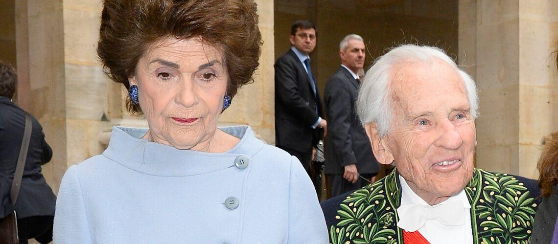 Jean d Ormesson   comment sa veuve Françoise fait pour supporter son  absence, un an après sa mort - Gala 8575fd5faab3