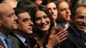 Quand Carla Bruni balançait sur la famille politique de son époux Nicolas Sarkozy