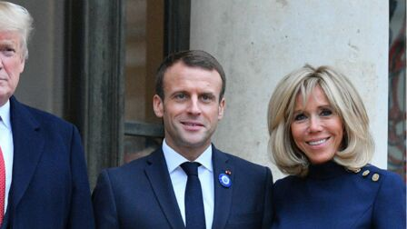 Brigitte Macron, l atout d Emmanuel Macron pour une réconciliation avec  Donald Trump 6991bc25d4e