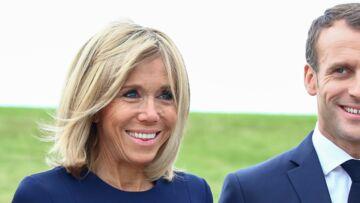 Brigitte Macron: ce tendre baiser à Emmanuel Macron qui émeut la toile
