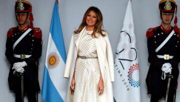 PHOTOS – Melania Trump très élégante avec une robe Dior à plus de 8000 €…