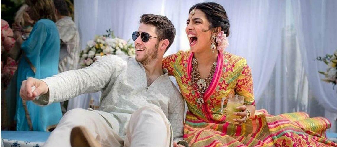 Priyanka Chopra  découvrez la sublime robe de mariée de la meilleure amie  de Meghan Markle , Gala