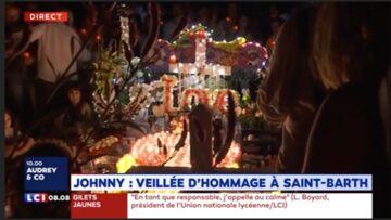 VIDEO – Laeticia Hallyday, Jade et Joy en larmes sur la tombe de Johnny: elles comptent sur le soutien des fans