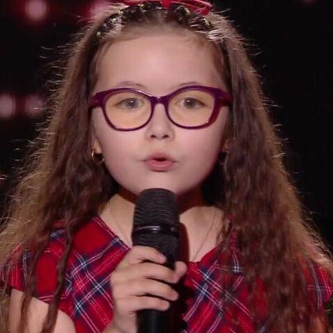 The Voice Kids: Emma, qui souffre d'une maladie des yeux, a rencontré Serge Lama après sa reprise touchante de Je suis malade