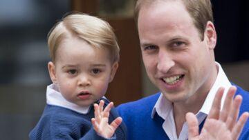 Le prince George trop mignon avant sa séparation avec son papa William