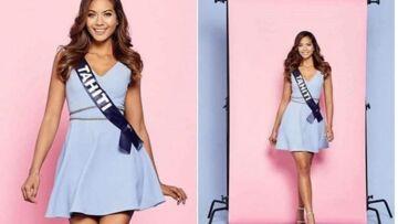 Miss France 2019:  Découvrez Miss Tahiti  une des grandes favorites de l'élection