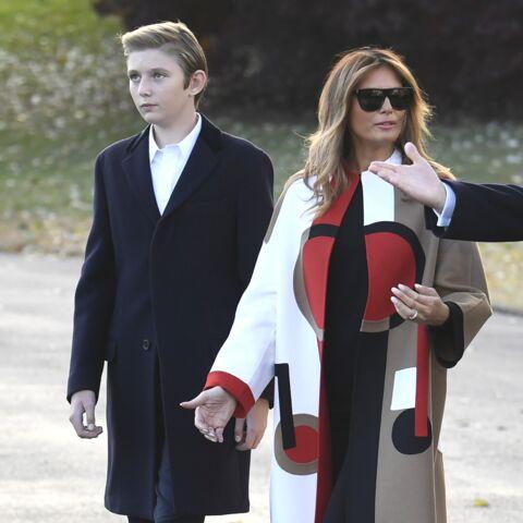 Barron Trump: le fils de Donald et Melania Trump gâté avant Noël