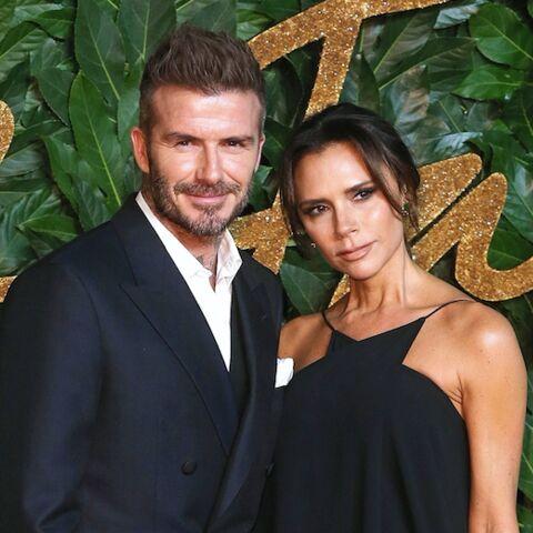 PHOTOS – Victoria et David Beckham très élégants pour une rare apparition avec leur fils Brooklyn