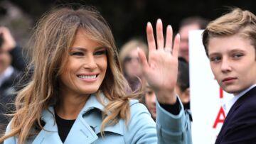 Melania Trump irritée: elle monte au créneau pour défendre son fils Barron