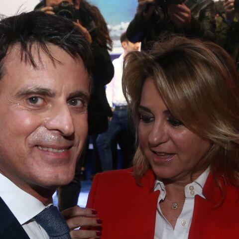 PHOTOS – Manuel Valls en meeting, sa nouvelle compagne Susana Gallardo joue les supportrices