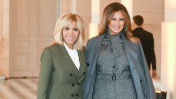 PHOTOS – Brigitte Macron, dans la tourmente, s'inspire-t-elle de Melania Trump?