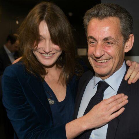 """Carla Bruni, très amoureuse, évoque """"l'éternité"""" avec Nicolas Sarkozy"""