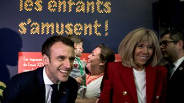 PHOTOS – Brigitte et Emmanuel Macron: ce moment de répit qui leur a fait du bien