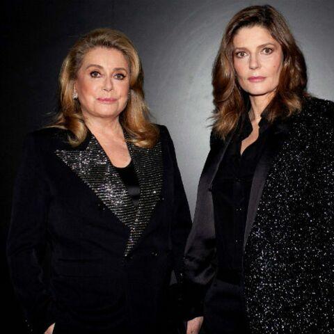 PHOTOS – Catherine Deneuve rayonnante en veste à sequins: sa fille Chiara Mastronianni est habillée comme elle