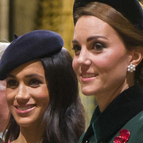Meghan Markle et Kate Middleton face à la reine: ce geste qui les rapproche