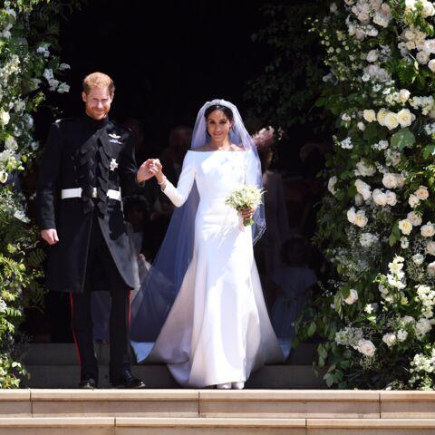 PHOTOS – Meghan Markle: sa robe de mariée Givenchy sacrée plus belle tenue de 2018!