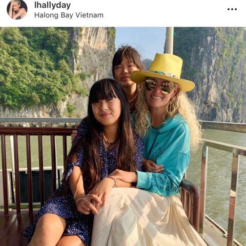 Depuis le Vietnam, Laeticia Hallyday lance un message sur l'héritage Johnny
