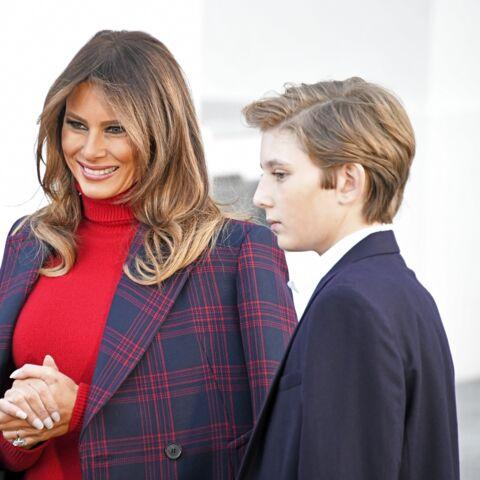 Melania Trump pourquoi elle a annulé ses vacances de Noël avec son fils Barron