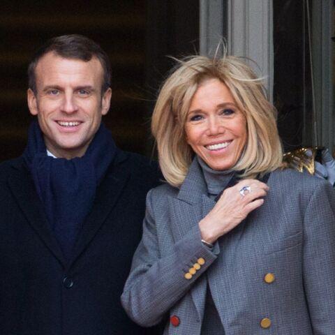 Brigitte et Emmanuel Macron font fi des polémiques en s'occupant des enfants malades du cancer