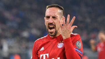 Franck Ribéry: vivement critiqué, le footballeur réplique avec violence