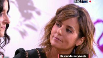 VIDEO – Faustine Bollaert, très émue par les larmes d'une survivante d'un tsunami