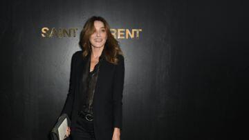 Carla Bruni, nostalgique de ses années mannequin: la chanteuse exhume de vieux clichés qui captivent les internautes