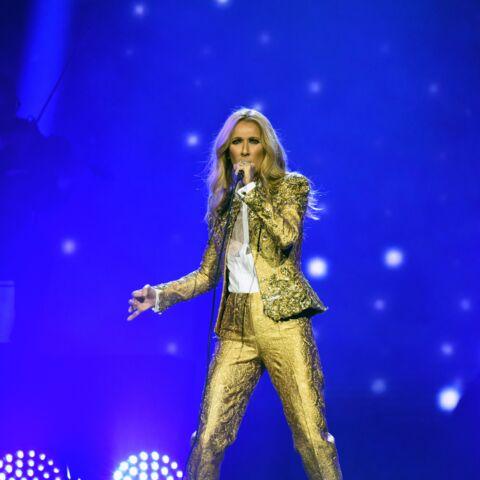 PHOTO – Céline Dion sexy et élégante en jupe courte et une paire de bottes hautes à 1990 €!
