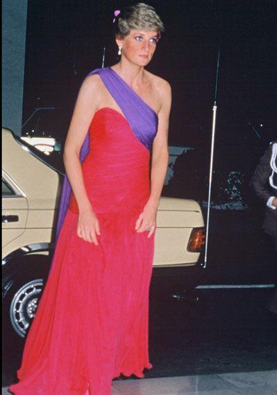 Diana en Thaïlande, en 1988