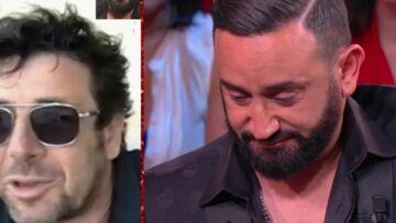 VIDÉO – Cyril Hanouna ému aux larmes par les mots touchants de Patrick Bruel