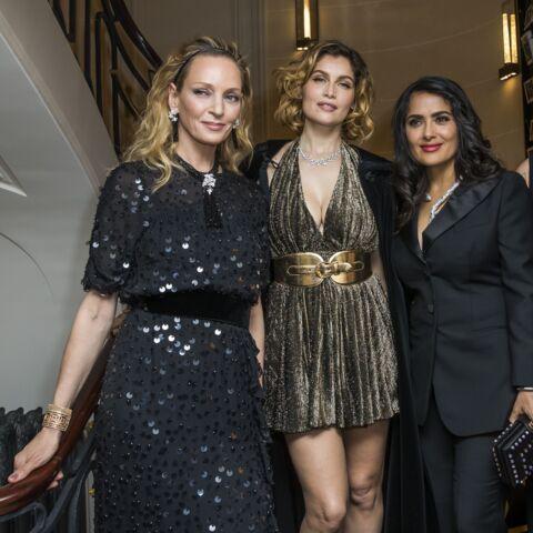 PHOTOS – Laetitia Casta, Uma Thurman, Salma Hayek très sexy à la soirée Boucheron