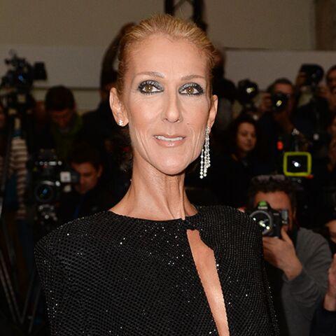 PHOTOS – Céline Dion ultra glamour en robe fendue au défilé Alexandre Vauthier Haute-Couture