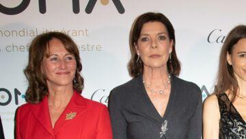 PHOTOS – Ségolène Royal ultra glamour aux côtés de Caroline de Monaco
