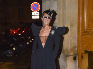 PHOTOS - Céline Dion sans soutien-gorge à la Fashion Week