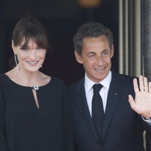"""Carla Bruni déclare sa flamme à Nicolas Sarkozy, """"l'amour de sa vie"""""""
